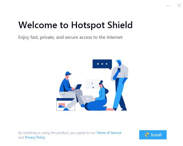 How to install Hotspot Shield VPN for Windows