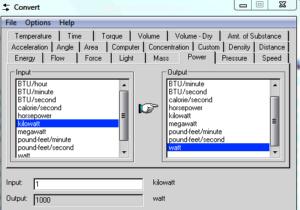 Convert unit converter for Windows