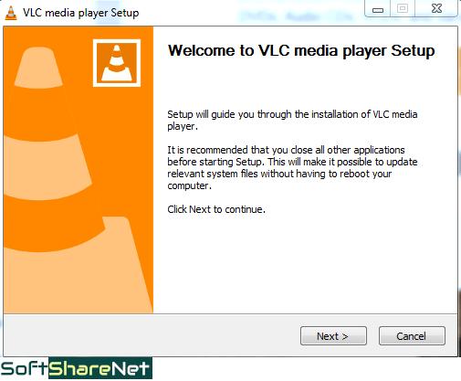 VLC Installation Window