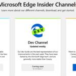 Latest Microsoft Edge