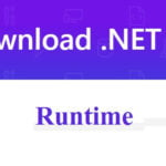 Download .NET Runtime for Windows